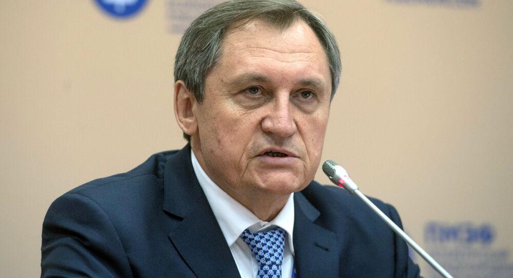رئيس الوكالة الفيدرالية الروسية للثروات الباطنية روسغيدرا نيكولاي شولغينوف