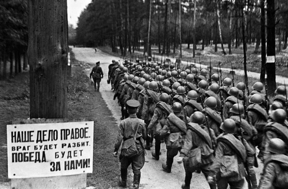 حالة تعبئة الجيش إلى الجبهة الحربية، 23 يونيو/ حزيران 1941