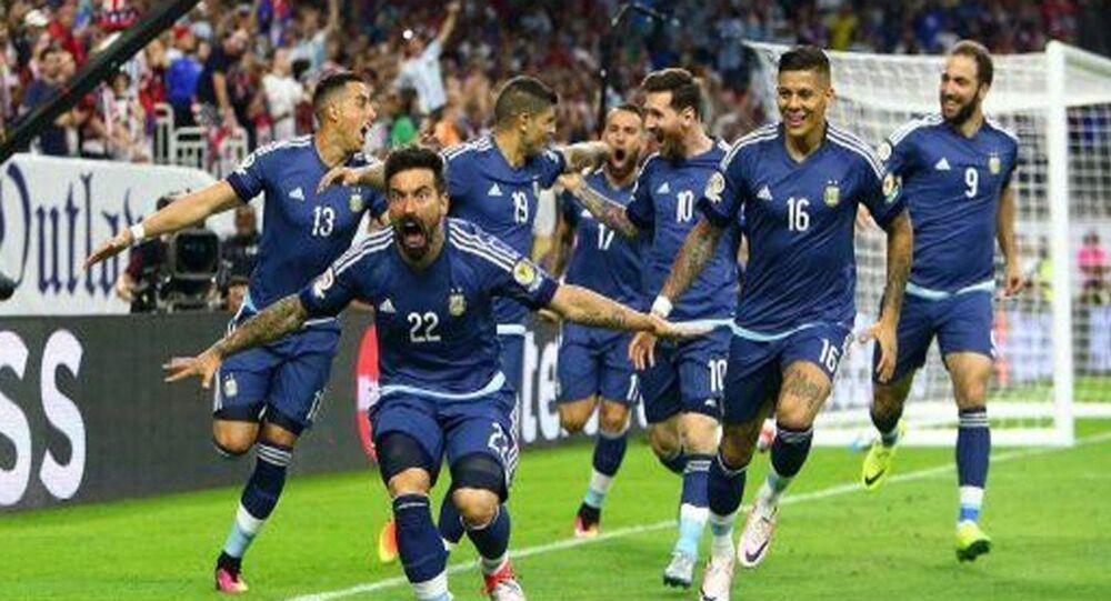 تصريح جريء من هيجواين عن إلغاء مباراة إسرائيل والأرجنتين ...