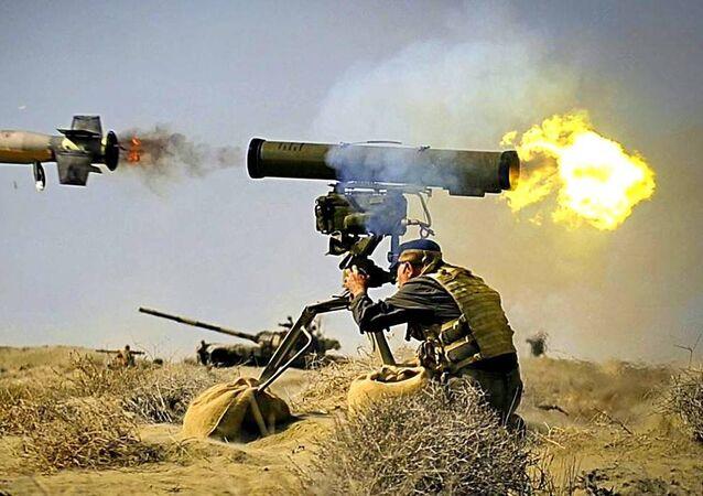 صاروخ كورنيت الروسي
