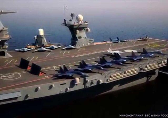 حاملة الطائرات الروسية العاصفة