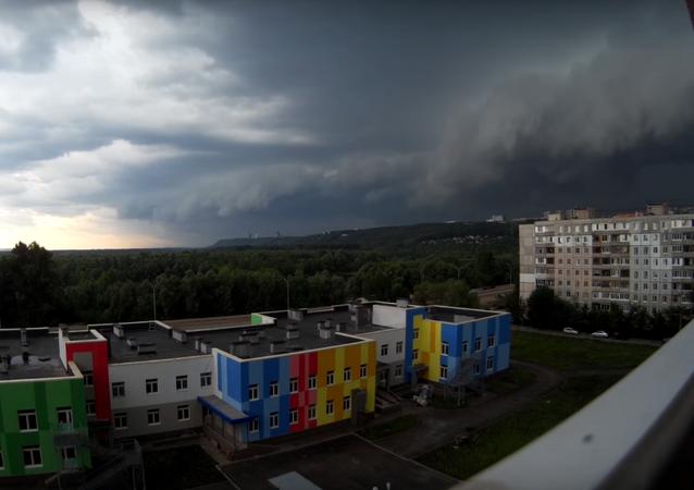 مدينة روسية تشهد أرمجدون