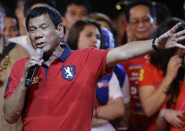 رئيس الفلبين الجديد رودريغو دوتيرتي