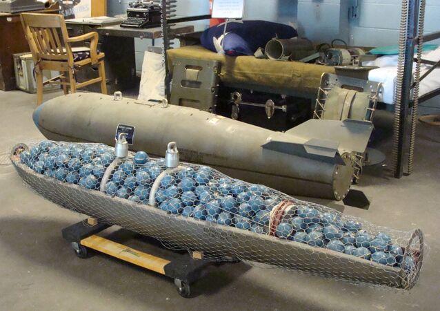 قنبلة عنقودية