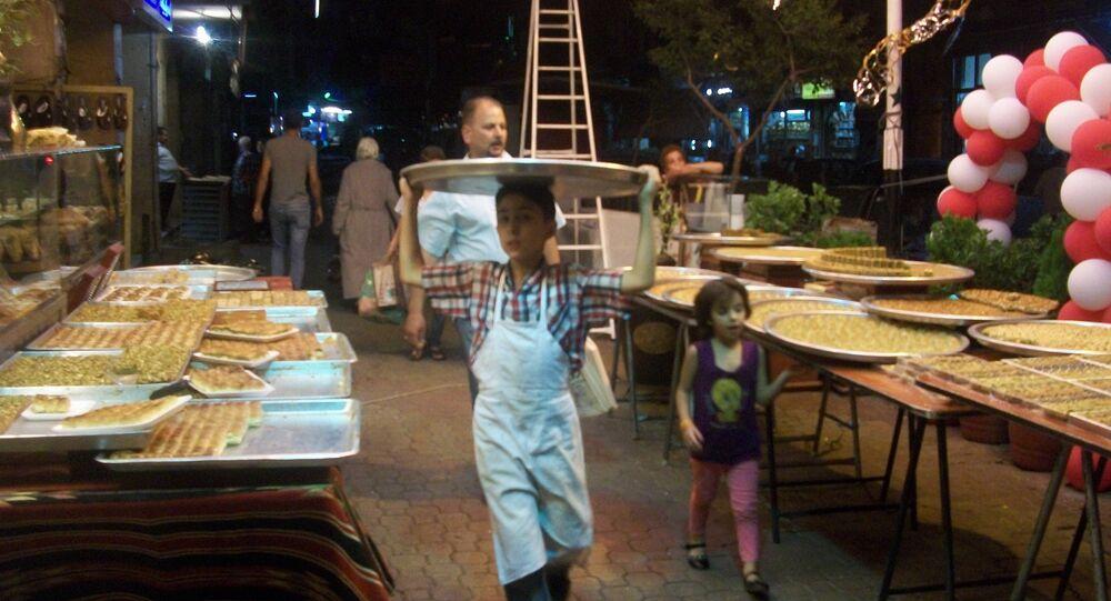 استقبال العيد في سوريا