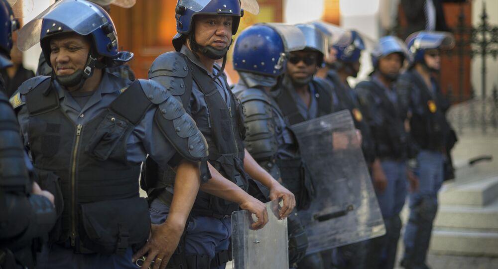 شرطة أفريقيا الجنوبية