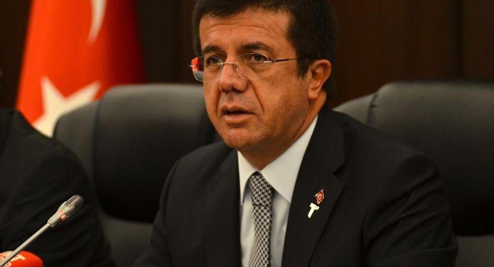 وزير الاقتصاد التركي