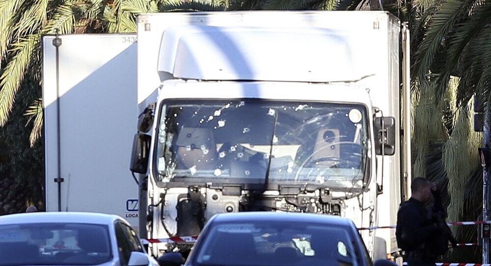 الشاحنة في حادثة نيس
