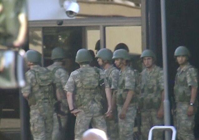 محاولة إنقلاب في تركيا