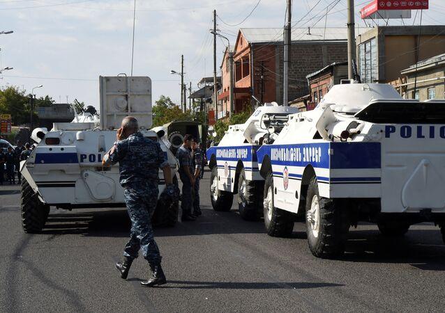الشرطة الأرمينية
