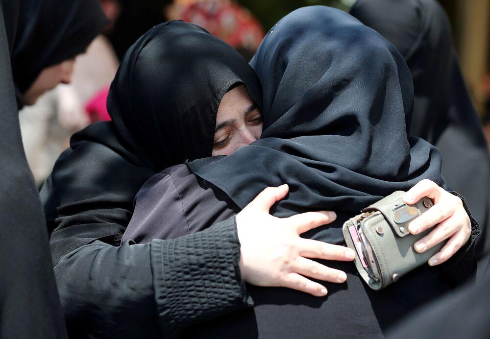 أهالي ضحايا محاولة الإنقلاب في اسطنبول
