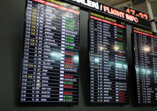 مطار اتاتورك في اسطنبول