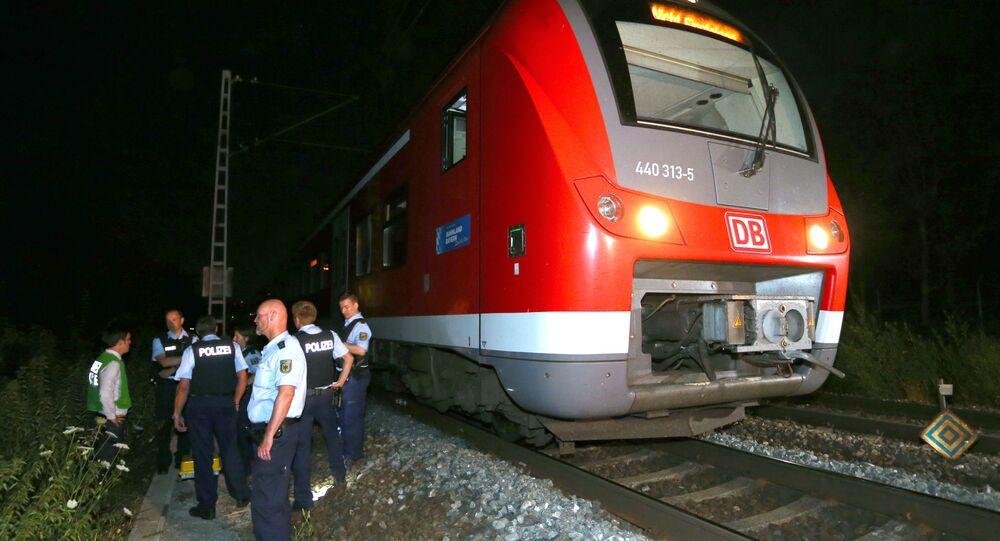 قطار تعرض ركابه إلى هجوم في ألمانيا