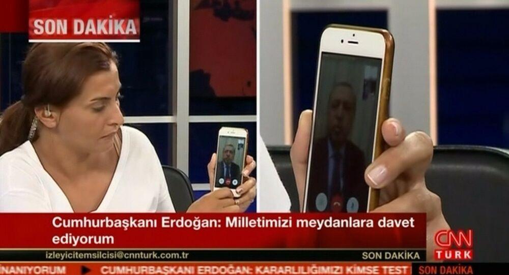 الإعلامية هاندي فرات تكشف كواليس الاتصال باأردوغان ليلة الانقلاب