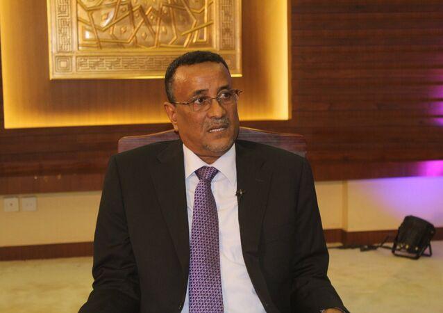 مساعد الرئيس السوداني إبراهيم محمود حامد