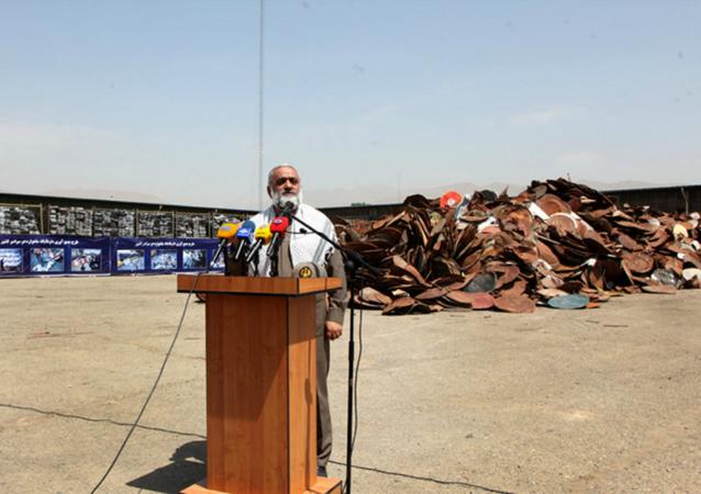 اللواء محمدرضا نقدي قائد قوات التعبئة (الباسيج) التابعة للحرس الثوري الإيراني