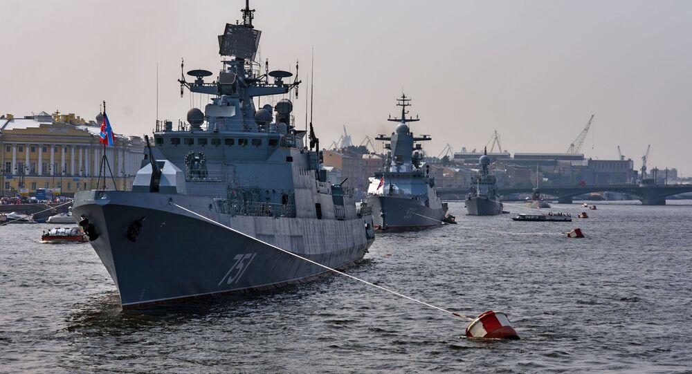 الفرقاطة الروسية الأدميرال إيسن