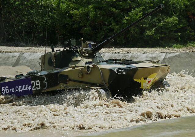 إحدى مسابقات الألعاب العسكرية الدولية