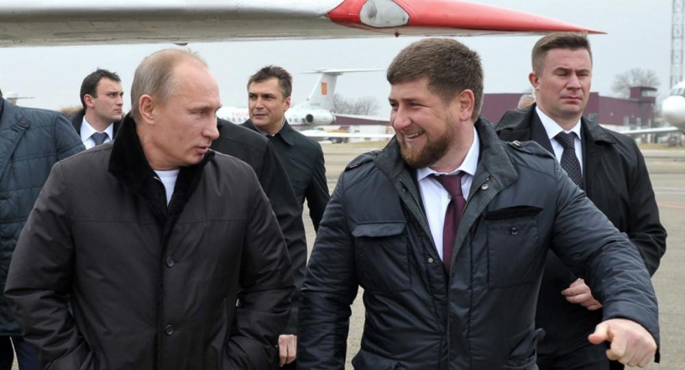 بوتين وقديروف