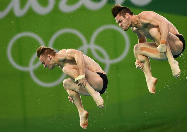 أولمبياد ريو 2016 - رياضيان أمريكيان خلال سباق