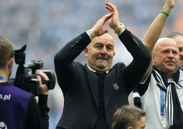 المدير الفني الجديد للمنتخب الروسي لكرة القدم تشرتشسوف