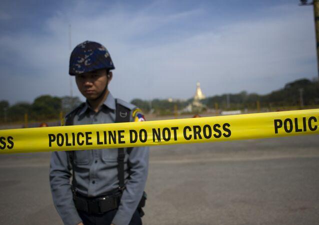 الشرطة التايلاندية