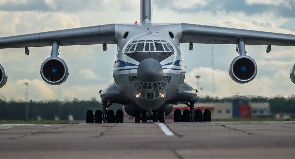 طائرة النقل العسكرية إيل - 76