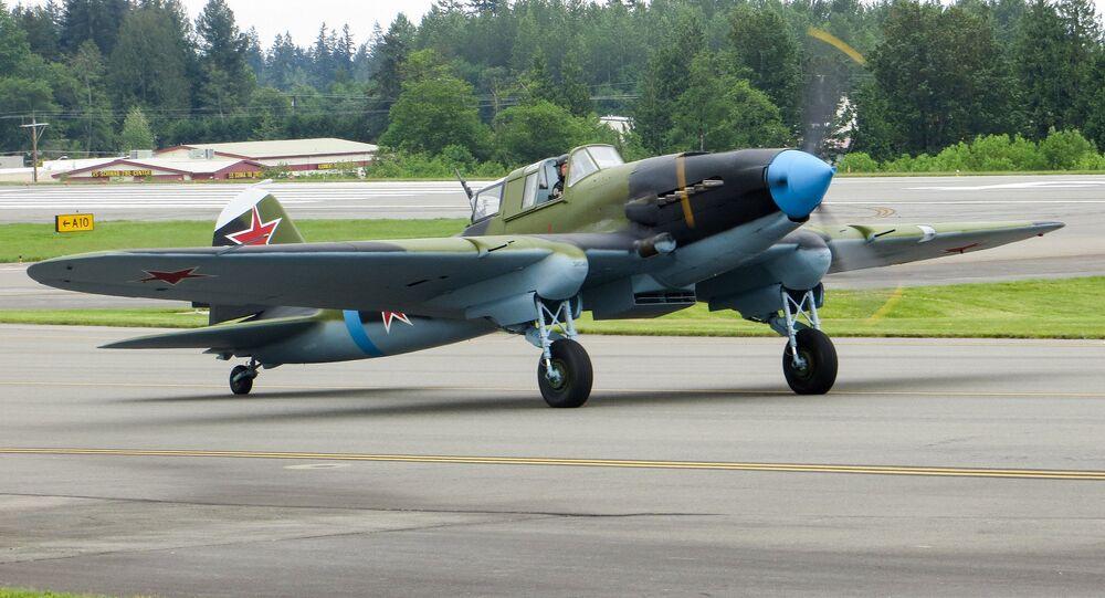 القاذفة الروسية إيل-2