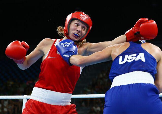 الملاكمة الروسية أناستسيا بلياكوفا