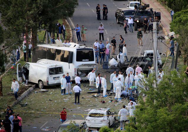 تفجير سيارة في تركيا