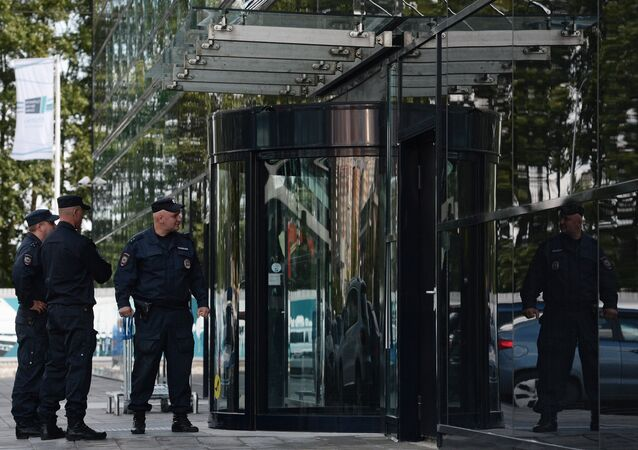 أفراد الشرطة الروسية في موسكو
