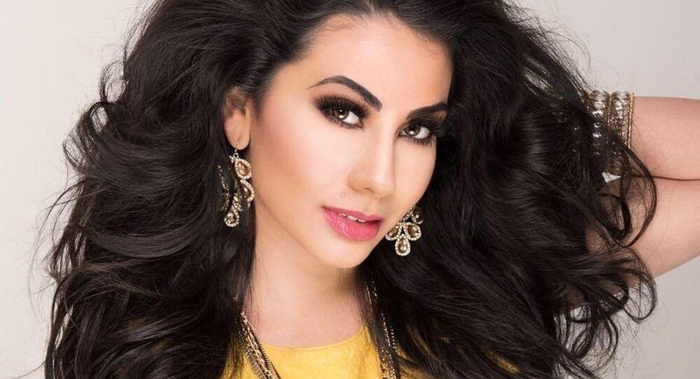ملكة جمال العرب ف أمريكا