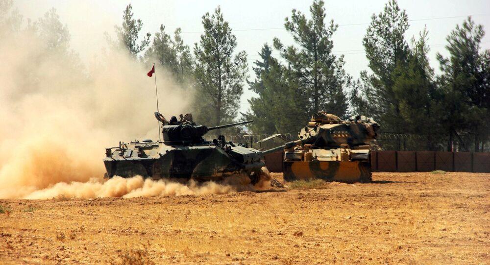 الدبابات التركية