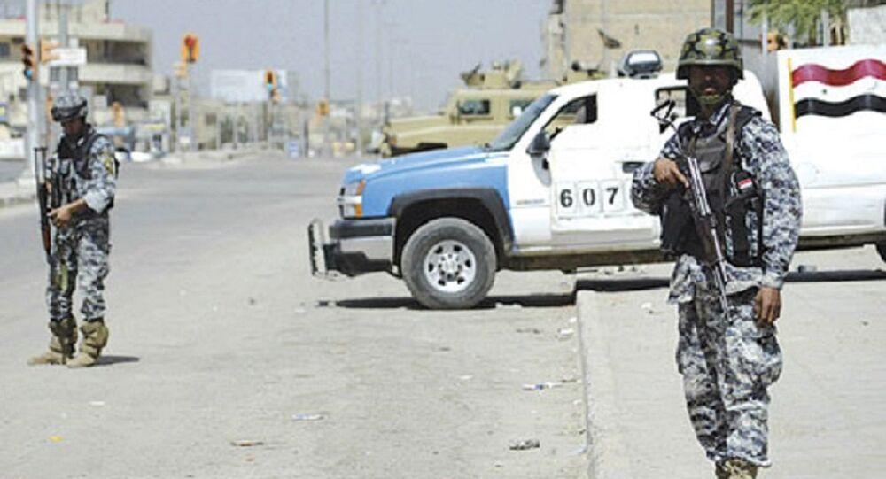 أفراد الشرطة العراقية