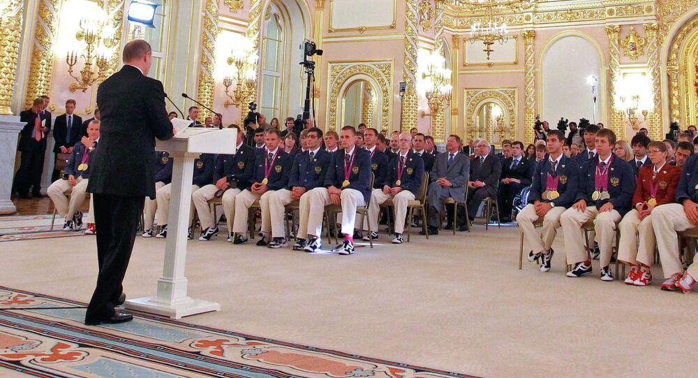 بوتين يستقبل الفائزين بميداليات الباراولمبياد