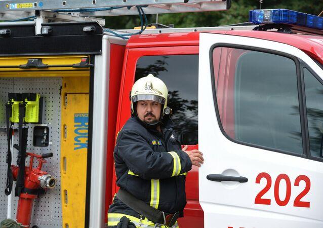 رجل الإطفاء