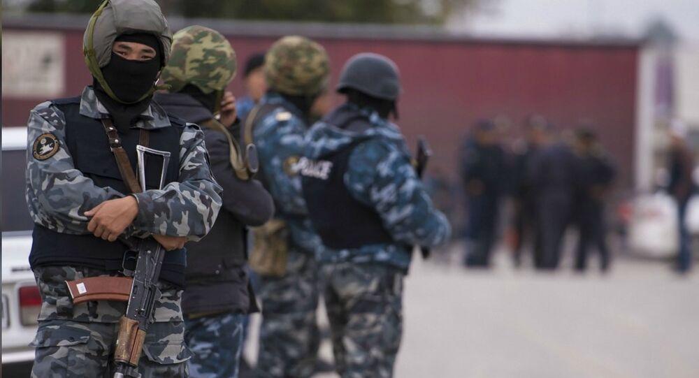 رجال أمن قرغيز