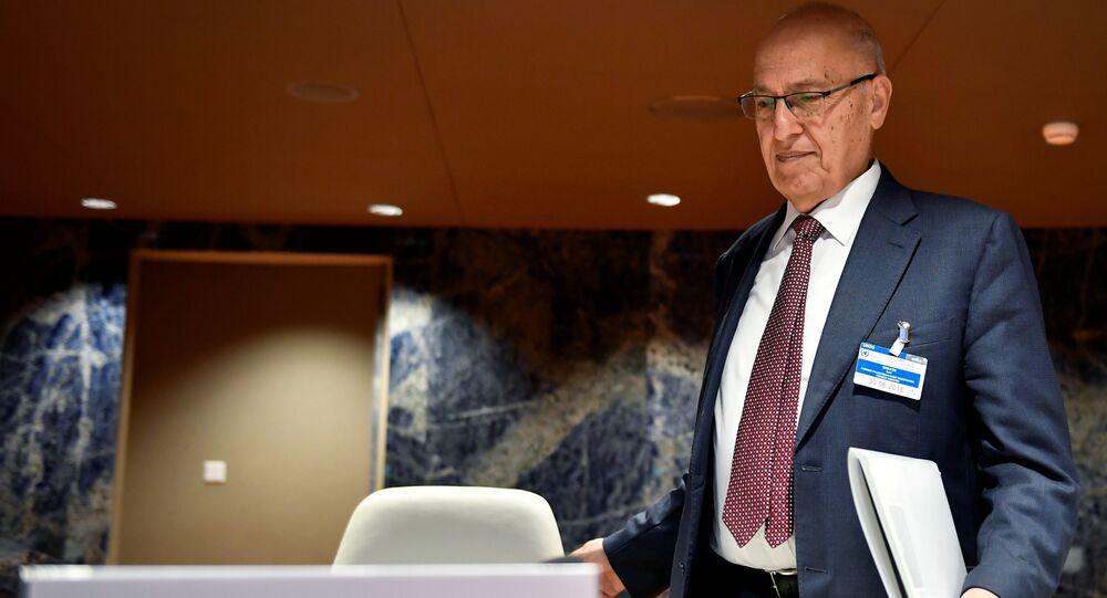 وزير الخارجية الفلسطيني السابق وعضو اللجنة المركزية لحركة فتح ومسؤول العلاقات الخارجية الدكتور نبيل شعث