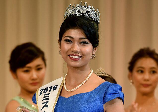 بريانكا يوشيكاوا ملكة جمال اليابان