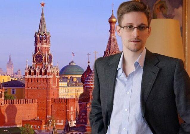 عميل الاسخبارات الأمريكية إدوارد سنودن