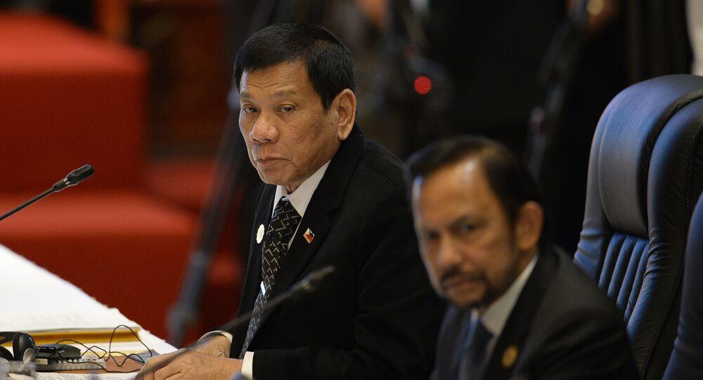 الرئيس الفلبيني رودريغو دوتيرتي  إقرأ المزيد