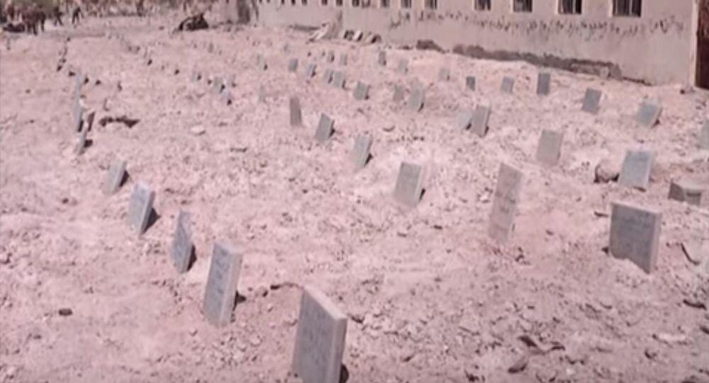 مقبرة جماعية لداعش (صورة أرشيفية)