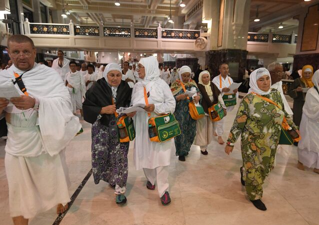الحجاج الروس في مكة المكرمة