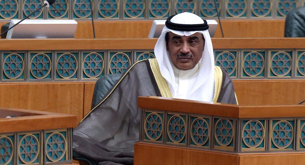 وزير الخارجية الكويتي الشيخ صباح خالد الحمد