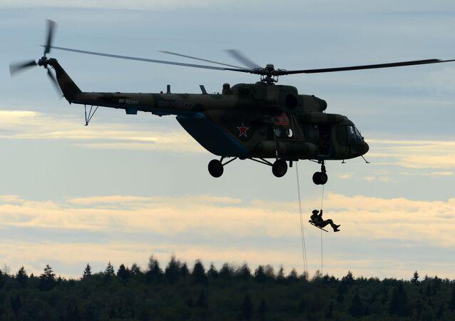 مروحية مي - 8 فى منتدي الجيش-2016