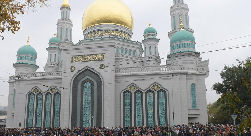 صلاة عيد الأضحى في مسجد موسكو