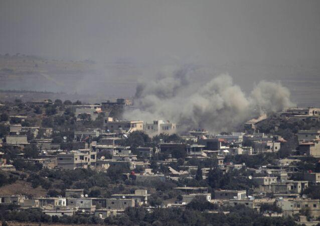 غارة جوية إسرائيلية على الجولان السورية