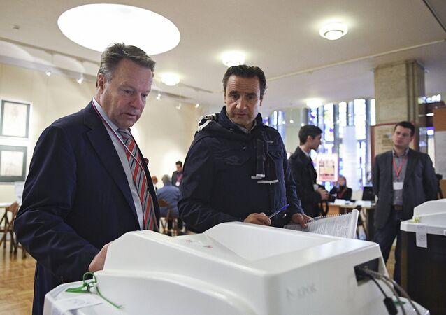 مراقبون أجانب في الانتخابات البرلمانية الروسية