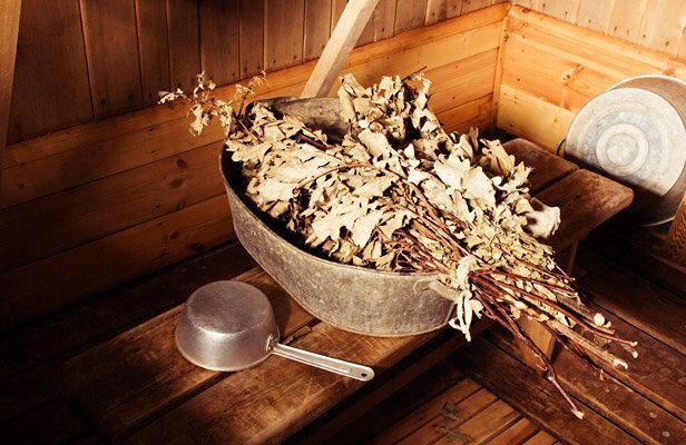 حمام البخار الروسي الساونا
