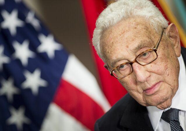 مستشار الأمن القومي السابق للرئيس الأمريكي، هنري كيسنجر